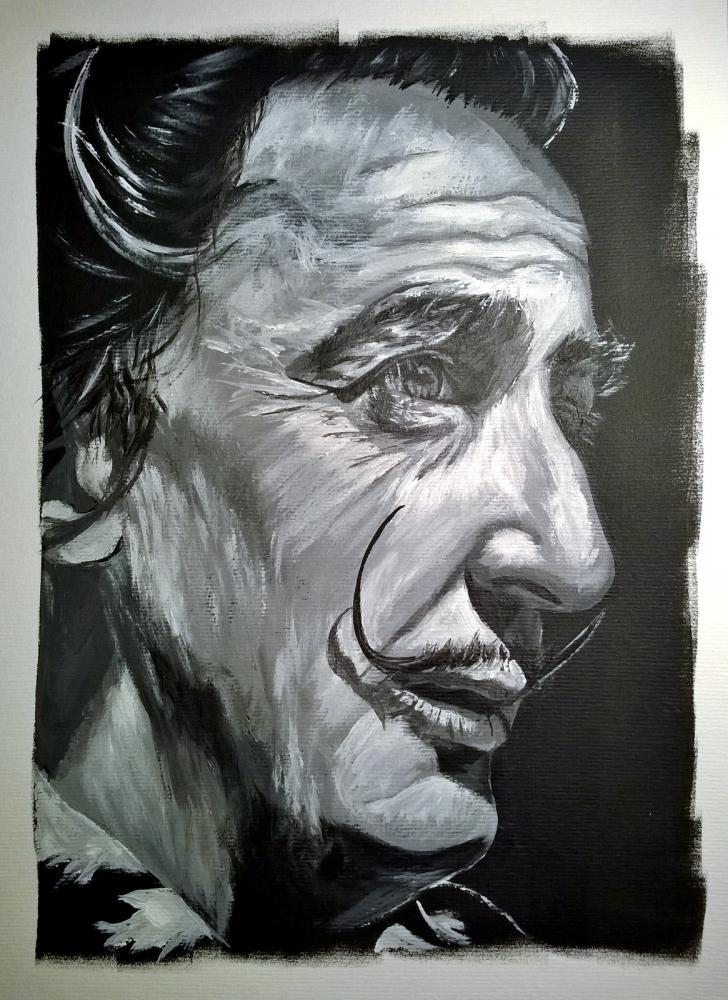 Salvador Dali by LUDO